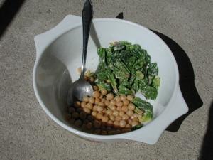 Gommer Erbse als Salat