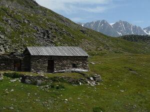 Waalerhütte (2377 m) auf dem Atzboden. Foto: Wikipedia
