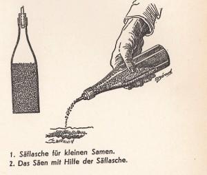 Säflasche; Quelle: Der erfolgreiche Pflanzer, 1945